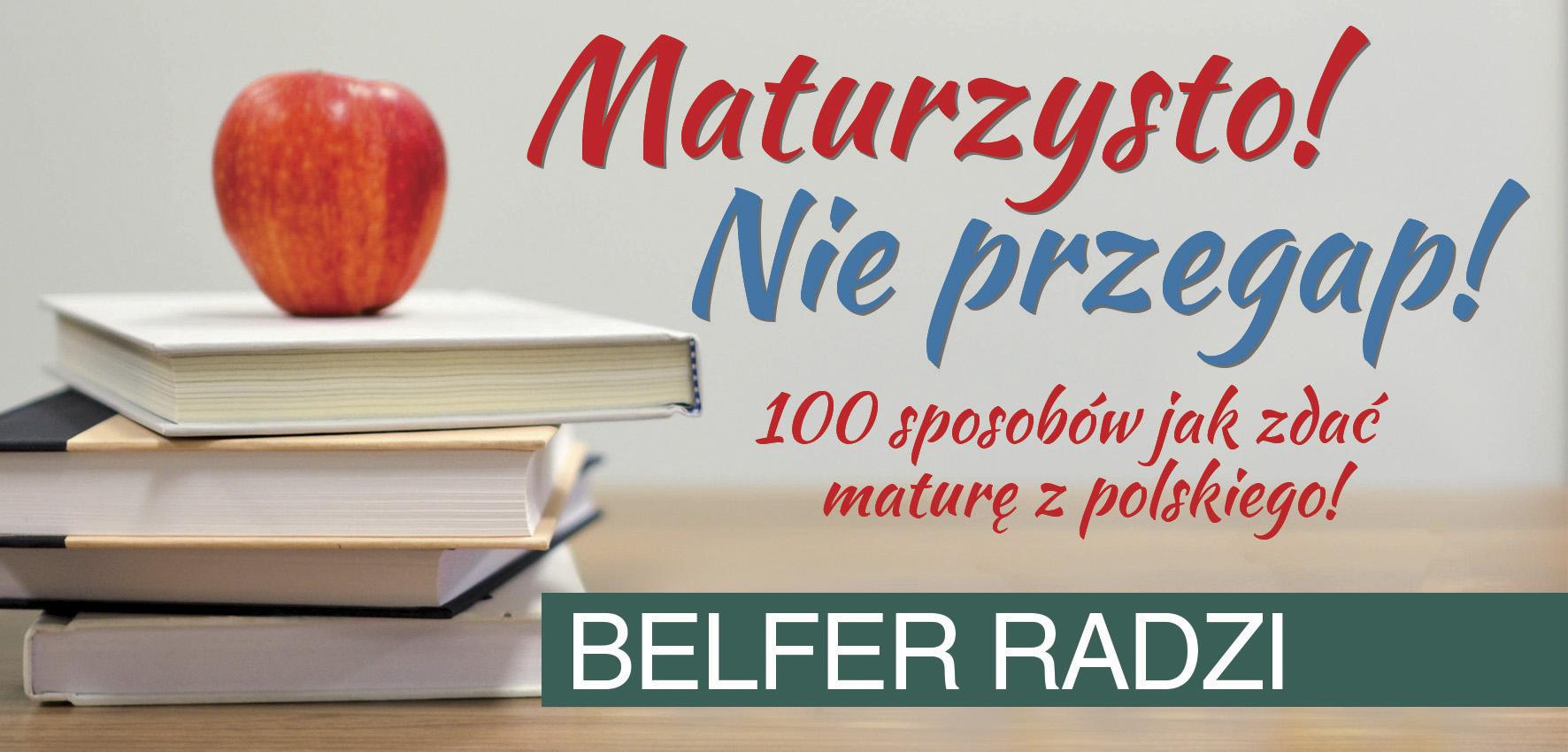 Dziś O Lekturach Z Cyklu Belfer Radzi Kurier Ostrowski